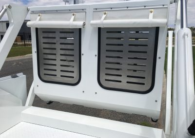 Ventilated Front Windows